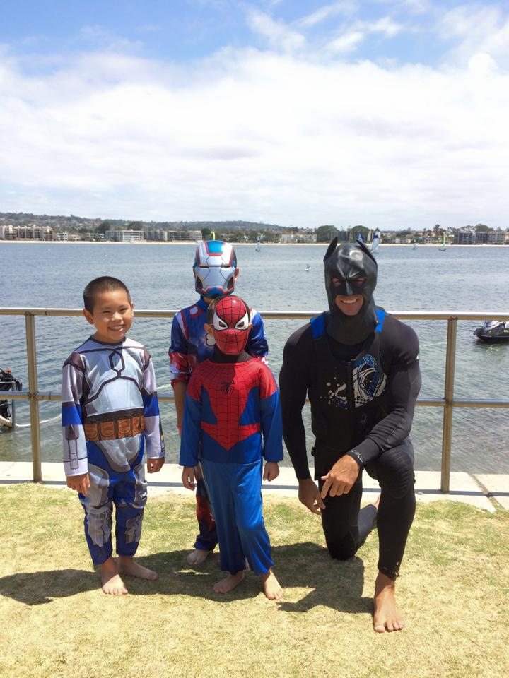Jetpack America's Superhero-for-a-Day event for San Diego's ComicCon
