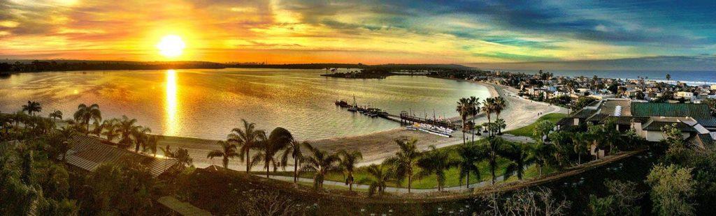 Aerial view of Jetpack America San Diego